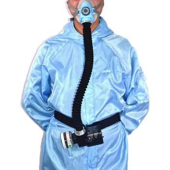 100-240 В Электрический постоянный поток подаваемого воздуха Fed лица противогаз химическая Пылезащитная крышка спрей живопись инструмент рес...