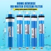 50/75/100/125/400GPD Home Kitchen Reverse Osmosis RO Membrane Replacement Water System Filter Water Purifier Drinking Treatment Appliances Electronics Small Kitchen Appliances Water Purifier
