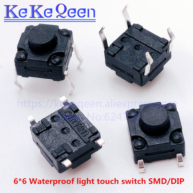 10pcs Mini Normally Closed Switch 4*6 3 x 6 SMD Tact Switch Touch 3*6*2.5mm QWI