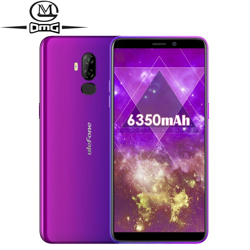 """Ulefone Power 3L Face ID 6.0"""" 18:9 Android 8.1 4G Smartphone 6350mAh MT6739 Ouad Core 2GB +16GB NFC Mobile phone"""