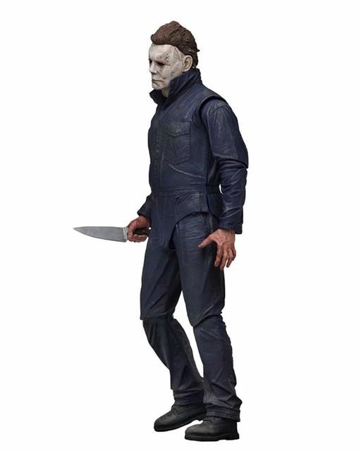 18 -centimeter Neca Halloween Final Michael Myers Action Figures Bjd Model Toys