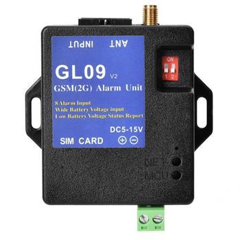 Alarm gsm gsm GL09 8 kanałowy zasilanie bateryjne kontrola aplikacji Alarm GSM systemy alarmowe powiadomienie SMS System bezpieczeństwa tanie i dobre opinie VBESTLIFE CN (pochodzenie) 15*11 5*4 5cm Przewodowy ABS plastics gsm alarm gsm gsm battery alarm despertador pilha controlador de alarmas gsm