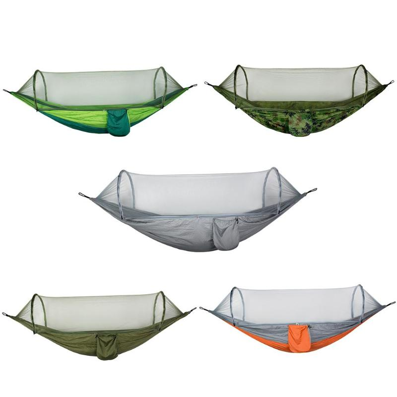 Outdoor Mosquito Net  Hammock Parachute Fabric Mesh Hammocks Beds Hanging Swing Sleeping Bed Tree TentOutdoor Mosquito Net  Hammock Parachute Fabric Mesh Hammocks Beds Hanging Swing Sleeping Bed Tree Tent