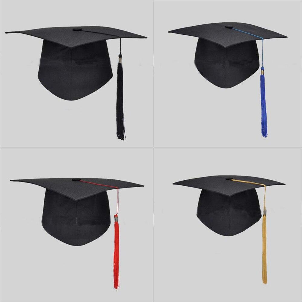 Graduation Party Caps Unisex Cap For Bechelor Master Doctor Tutor Principal Funny Academic Gorros Bone Bonnet Headwear 2
