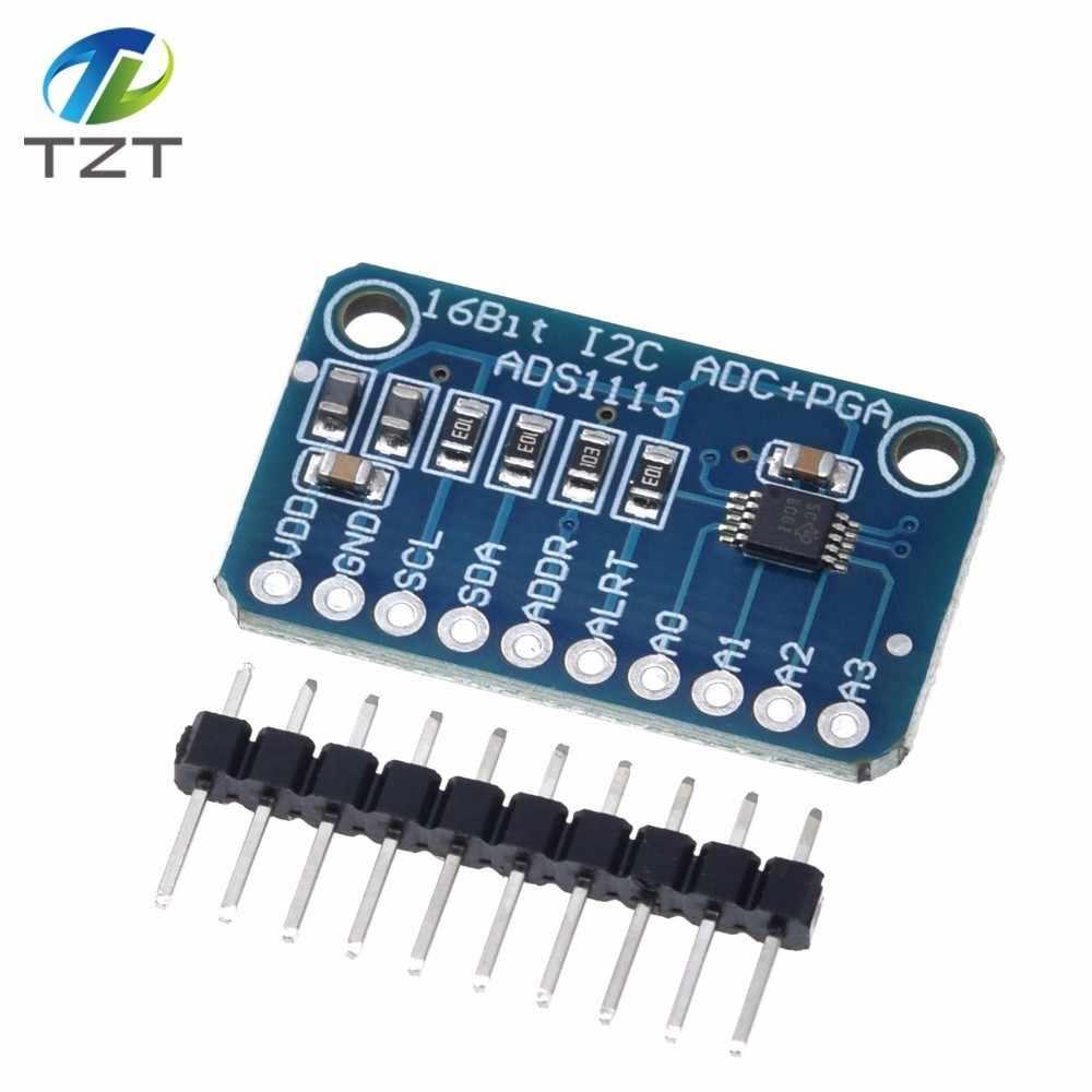 ADS1115 16-Bit I2C ADC+PGA Pro Gain Amplifier 4 Channel Module For Arduino