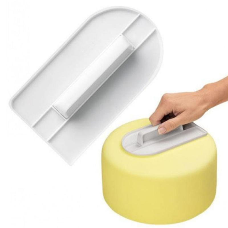 Kitchen bar Cake Cream Surface Smoother DIY tool Cutter Decorating Fondant Sugarcraft smooth 2019 hot sale
