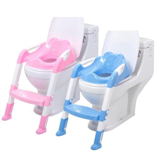 Large Size Children Toddler Kid Baby Toilet Training Safety Seat Chair Step Adjustable Ladder