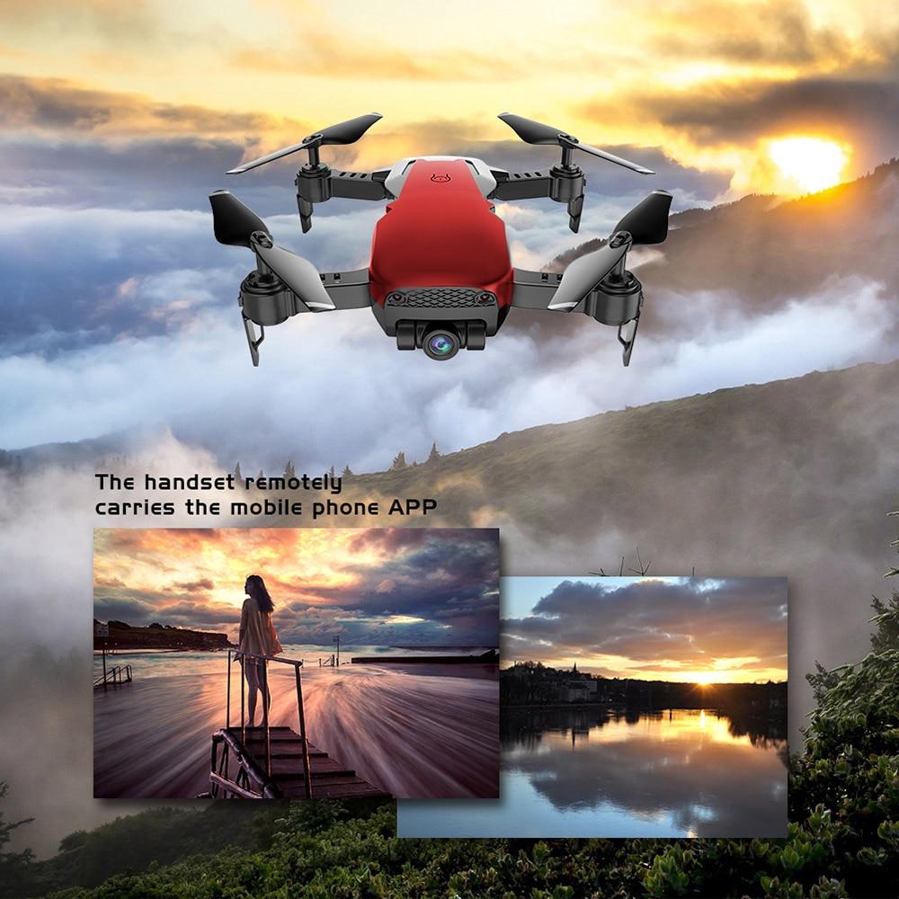 Dongmingtuo X12 szeroki kąt dron z kamerą 720 P WiFi dron FPV wysokości App sterowania jeden klawisz powrotu RC Quadcopter helikopter w Helikoptery RC od Zabawki i hobby na  Grupa 3
