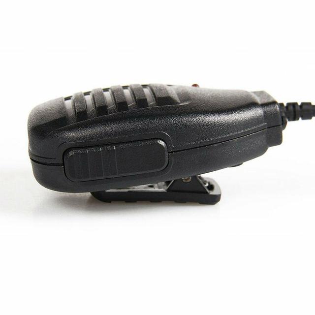 2Pcs Handheld Speaker Walkie Talkie Radio Mic For Baofeng Uv-5R V2+ Bf-F8+Wp970 888S