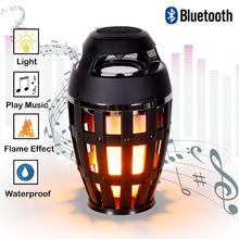 hot deal buy computer portable speakers night light frame lamp bluetooth louspeakers wireless stereo sound speakers phone tf card supported