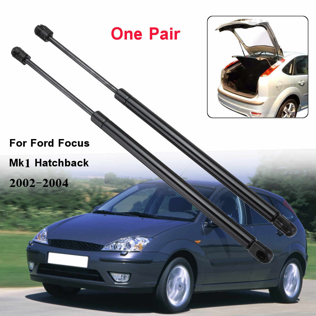 2pcs Car Rear Tailgate Boot Gas Struts Support For Ford for Focus Mk1 Hatchback 1998 1999 2000 2001 2002 2003 2004