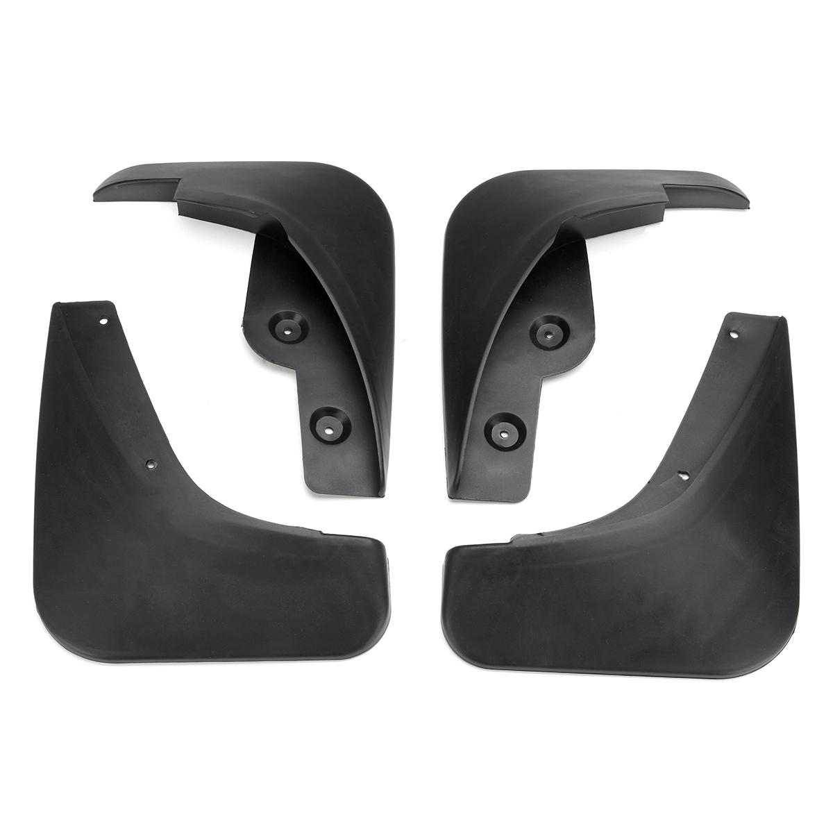 For 2014-17 Mazda 3 Hatch Axela Mudflaps Mud Flaps Splash Guards Mudguard Black