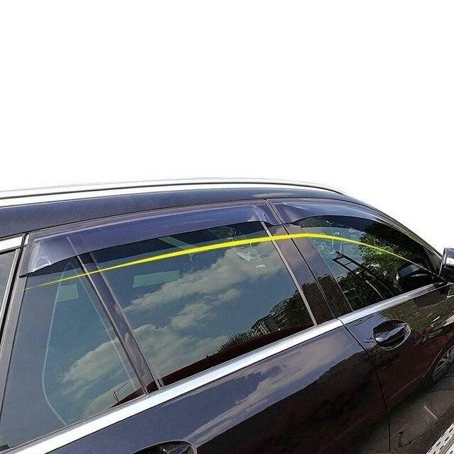 Accessories Automovil Parts Automobile Car Anti Rain Window Visor Awnings Shelters FOR Mercedes Benz A B GLA GLC GLK Class Vito