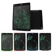 12 дюймов ЖК-дисплей дощечку цифровой графический планшет Портативный электронный Графика ЖК-доска для записей с CR2032 Батарея