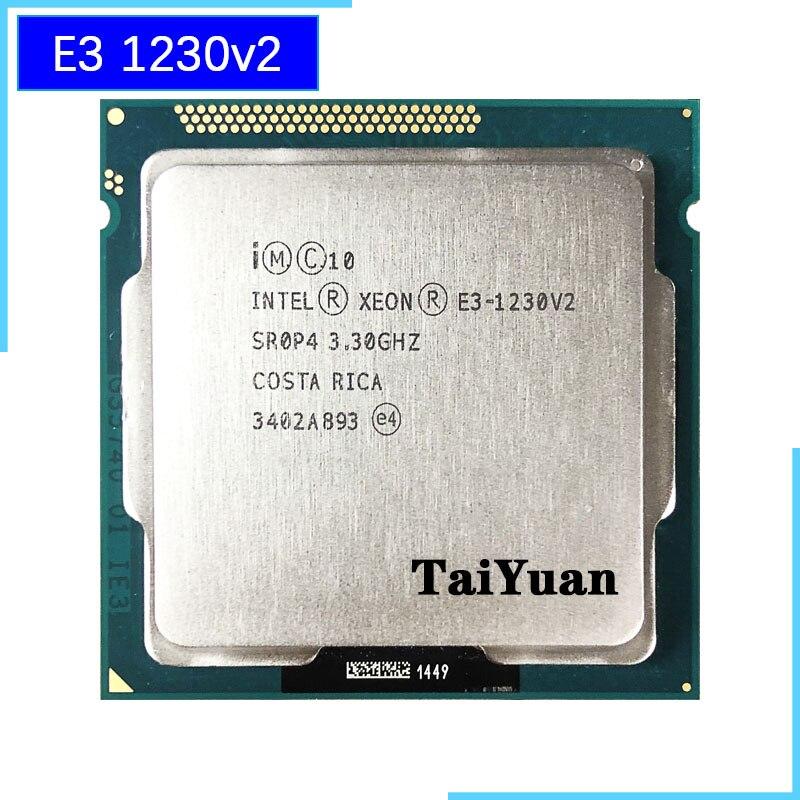 Intel Xeon E3 1230 v2 E3 1230v2 E3 1230 v2 3 3 GHz Quad Core CPU