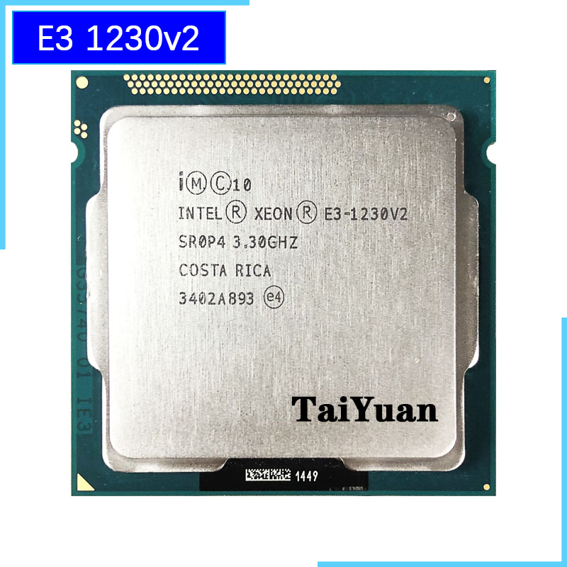 Intel Xeon E3-1230 v2 E3 1230v2 E3 1230 v2 3.3 GHz Quad-Core CPU Processor 8M 69W LGA 1155