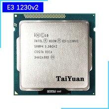 Processador intel, intel xeon E3 1230 v2 e3 1230v2 e3 1230 v2 processador central quad core, 3.3 ghz 8m 69w lga 1155