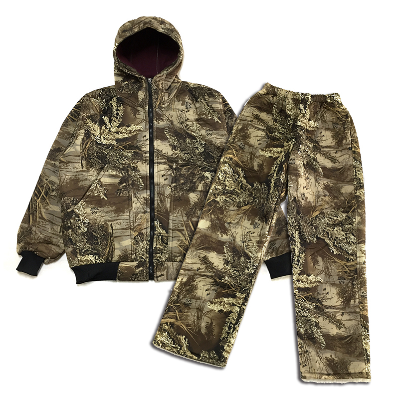 5c3c9403c422a Detail Feedback Questions about Winter Men Bionic Hunting Jacket Pants Suit  Male Outdoor Tactical Military Clothes Sniper Fishing Fleece Camouflage  Ghillie ...