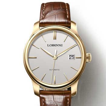 Luxury Brand Clock LOBINNI Watch Men Japan Miyota Auto Mechanical Movement Men\'s Watches Sapphire Waterproof relogio L12035-3 - DISCOUNT ITEM  49 OFF Watches