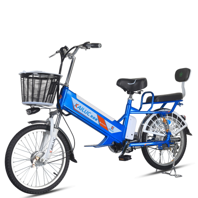 Daibot Electric Bike 60V Two Wheel Electric Scooters 20/24 inch Anti-theft System/Remomvable Battery Adult Electric Bicycle 350W