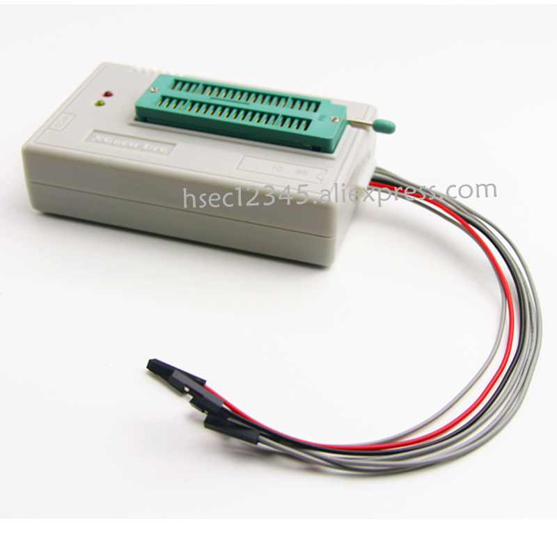 Image 4 - Newest version XGecu TL866II Plus usb universal programmer Russia software Minipro TL866 TL866CS / AFlash EPROM NAND programmer-in Integrated Circuits from Electronic Components & Supplies