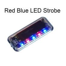 Auto Anti-Theft Fake Simulated Solar Vibration 5-Blue And Red LEDs Light Car Alarm Security Flash Burglar Deterrent