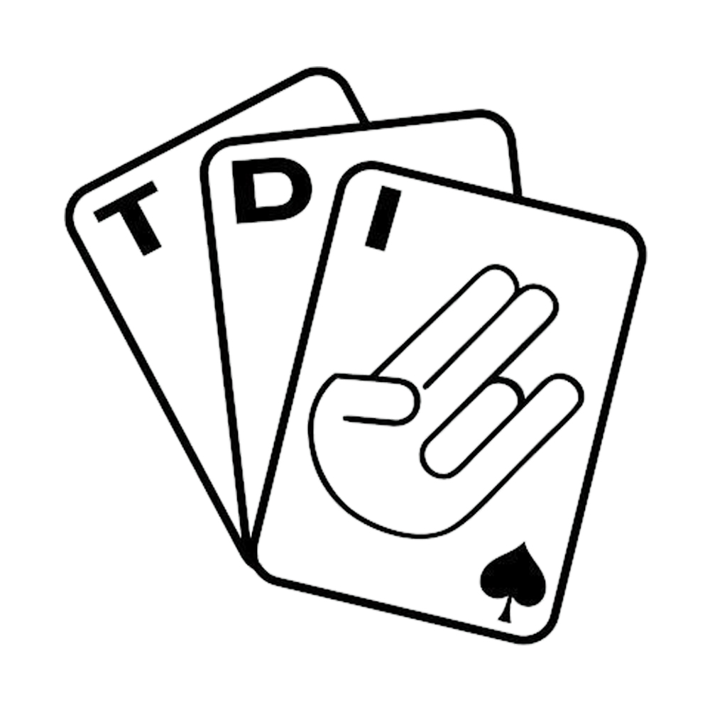Poker tdi anpassung aufkleber schockierend auto aufkleber diesel dekorative bumper sticker
