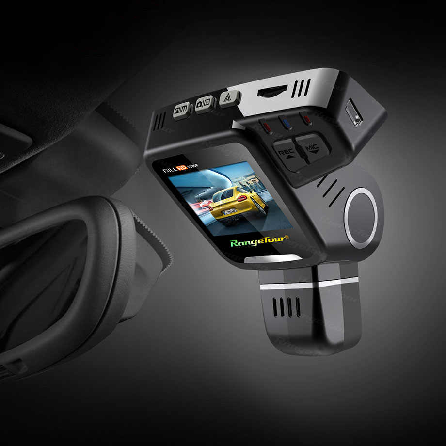Двойной объектив Dash Cam C10s Plus FHD 1080P видеорегистратор 360 градусов вращающаяся Линза Автомобильный видеорегистратор регистратор с ночным видением