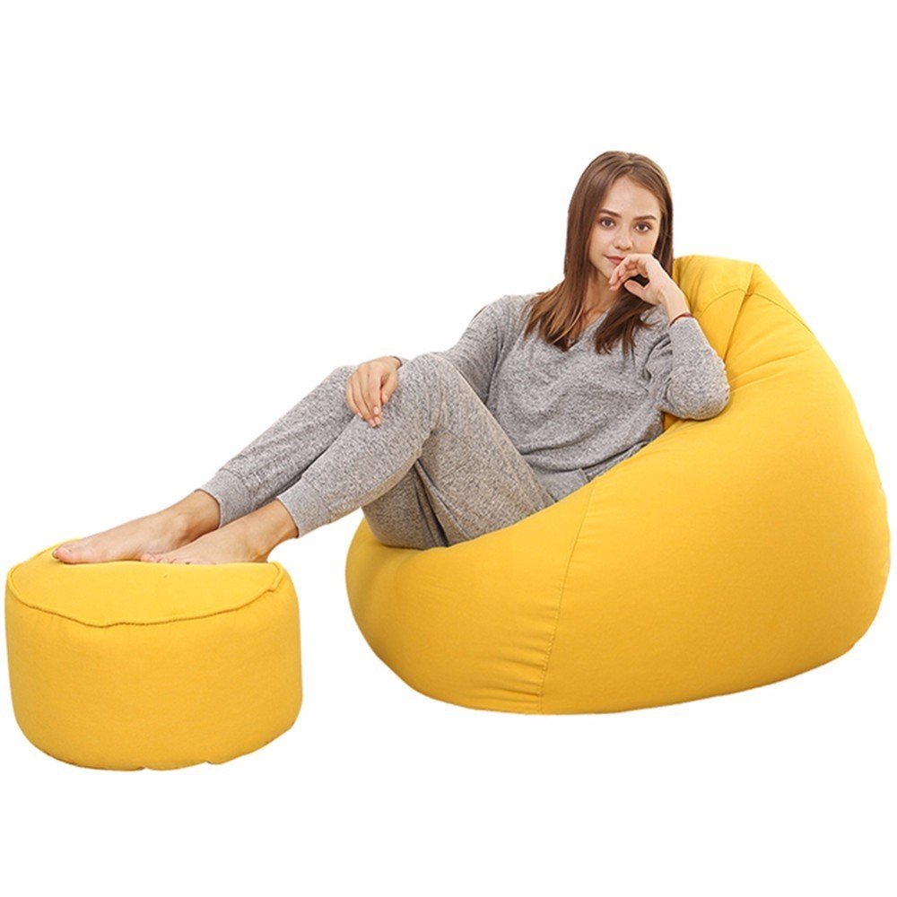 Strange Us 15 4 Footrest Stool Round Soft Ottoman Seat Lovely Solid Pouffe Stool 5 Wooden Chair Cover Living Room Modern Footstool In Chair Cover From Home Cjindustries Chair Design For Home Cjindustriesco