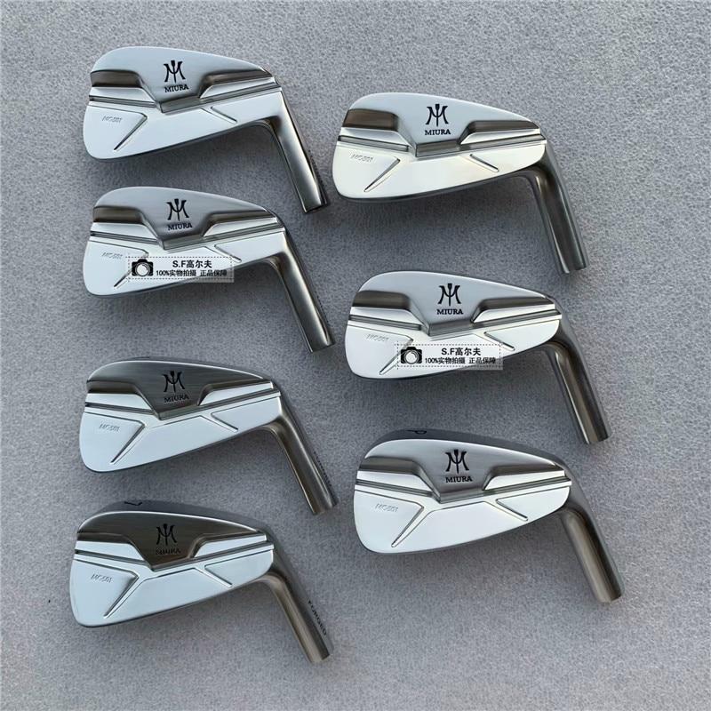 Golf Iron Set New Mens Golf Head MIURA MC-501 FORGED Irons Clubs Head Set 4-9.P MC-501Golf Irons Head No Shaft Free Shipping