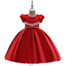 цены EAZII Tutu Dress for Girl Princess Christmas Party Costume Lace Little Girl Dresses for New Year Carnival Dress up 4-13Years