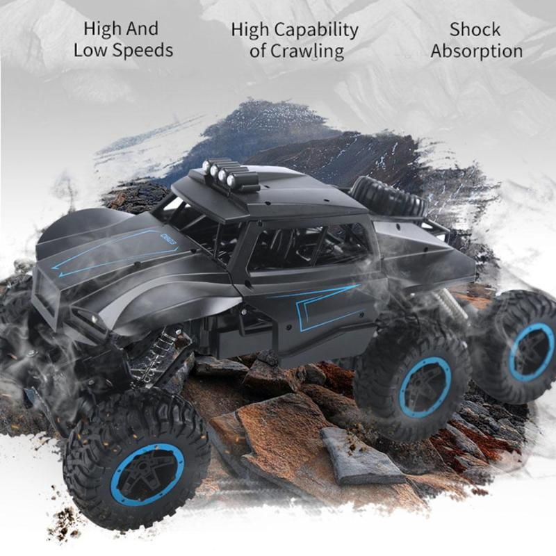 Apprehensive 2.4ghz Cool Climbing Car Off-road Vehicle Kids Toy Double Motors Bigfoot Car Remote Control Truck Model Toy For Birthday Gifts