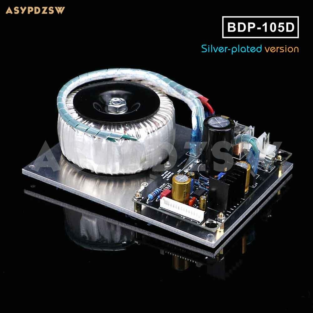 Module de carte d'alimentation linéaire en argent plaqué pour lecteur OPPO BD BDP 105/105D/95 PSU modifié/mis à niveau-in Adaptateurs AC / DC from Electronique    1