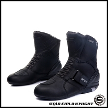 ARCX/Новинка; водонепроницаемые ботинки в байкерском стиле; Высококачественная кожаная обувь; мотоциклетные ботинки для мотокросса; Цвет Черный; размеры 39, 40, 41, 42, 43, 44, 45