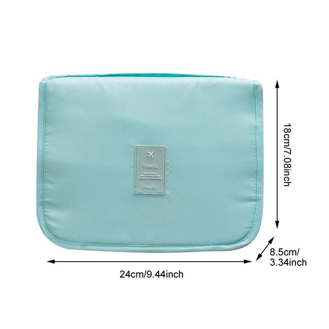 Cestovná závesná toaletná taška 8farieb Portable Hanging Toiletry Bag