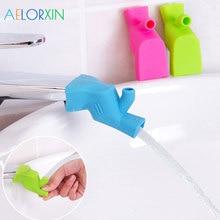 Новые два способа использования устройства для мытья рук для маленьких детей аксессуары для ванной комнаты для мытья рук расширение водяного лотка