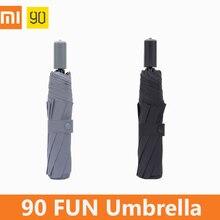 Xiaomi 90 Fun Umbrella, женский, мужской, детский мини-зонт, студенческий, ветрозащитный, водонепроницаемый, защита от солнца, автоматические зонты