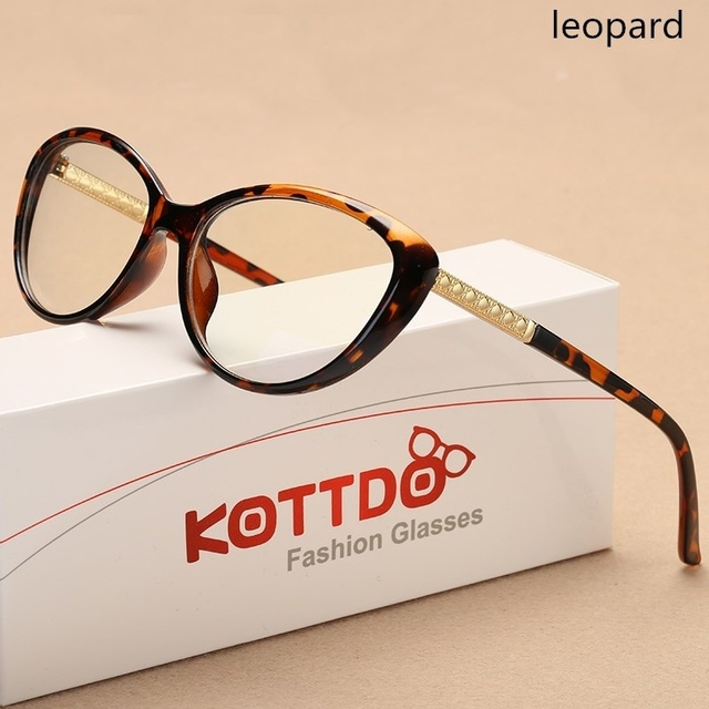 8acb87f704b KOTTDO Cat Eye Glasses Frame prescription optical glasses men eyeglasses  frames women eyewear frame