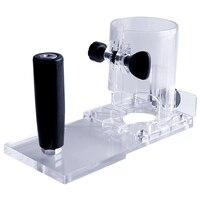 Novo trimmer base placa de equilíbrio carpintaria borda cortador para máquina elétrica aparador ferramentas elétricas acessórios