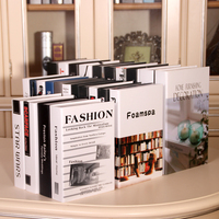 Modern Simple Simulation Book Fake Book Decoration Book Model Box Study Home Decoration Cafe Living Decorations Ornaments Gifts