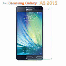 2Pcs 9H Film For Samsung Galaxy A5 2015 Screen Protector For Samsung A5 Duos HSPA Tempered Glass For A500F A500FU A5000 A500H