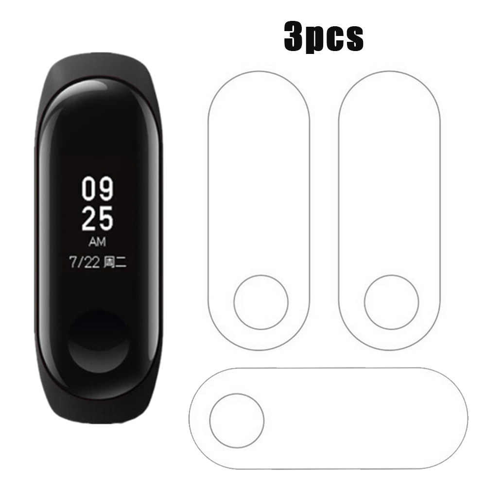 3pcs Protector Miband3 Mi Band 3 HD Ultra Thin Anti-scratch Screen Protective Film For Xiaomi Mi Band 3 Band3 Screen