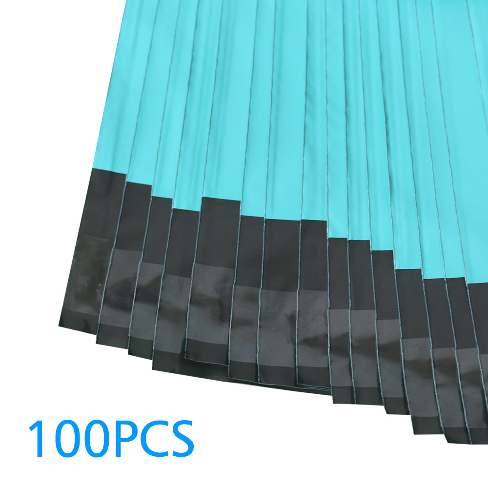 Image 5 - Speedy Mailers 100pcs 8.5x10inch Colorful Poly Mailer 22x26cm Teal Green Poly Mailer Self Seal Plastic Packing Envelope Bags-in Paper Envelopes from Office & School Supplies