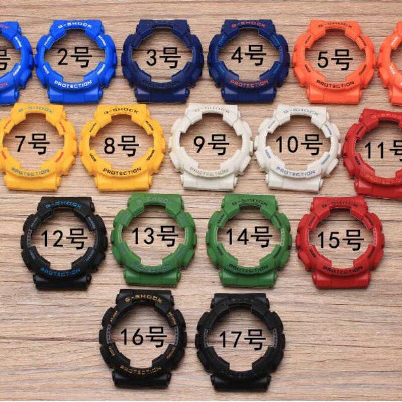 Silicone Rubber Watch Band Send Tool Screwdriver Convex Strap For Casio G-SHOCK GA120 GA-100 GA-110 Steel Clasp Watch Band Case