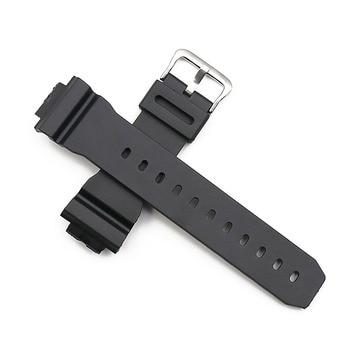 Watch accessories resin strap case pin buckle for Casio DW-6900 DW-6600 sports waterproof strap women men watch band недорого