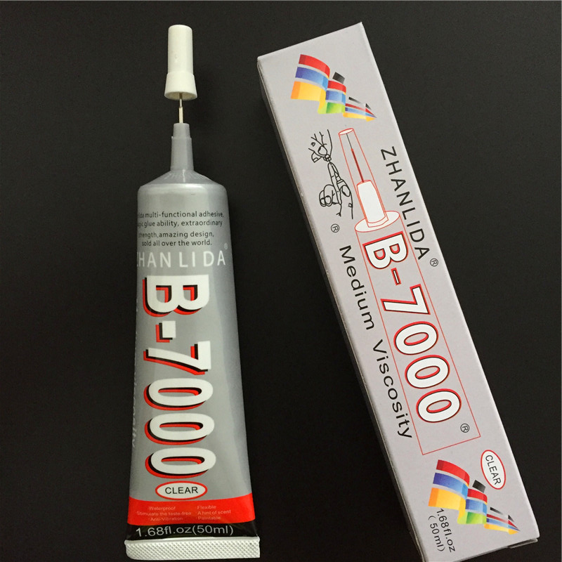 50ml  B7000 Clear Glue Multi Purpose, Adhesive Epoxy Resin Glue DIY Glass Touch Screen Cell Phone Craft Glue