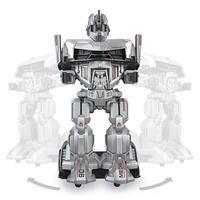Удаленный Управление ездить на робота гуманоида игрушечных автомобилей подвижный трансформатор автомобиля с роботом шлем для детей Детск