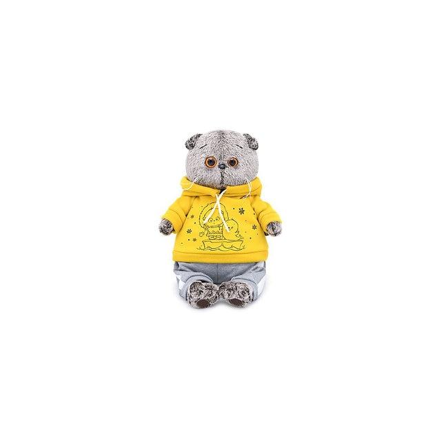 Мягкая игрушка Budi Basa Кот Басик в спортивном костюме, 22 см