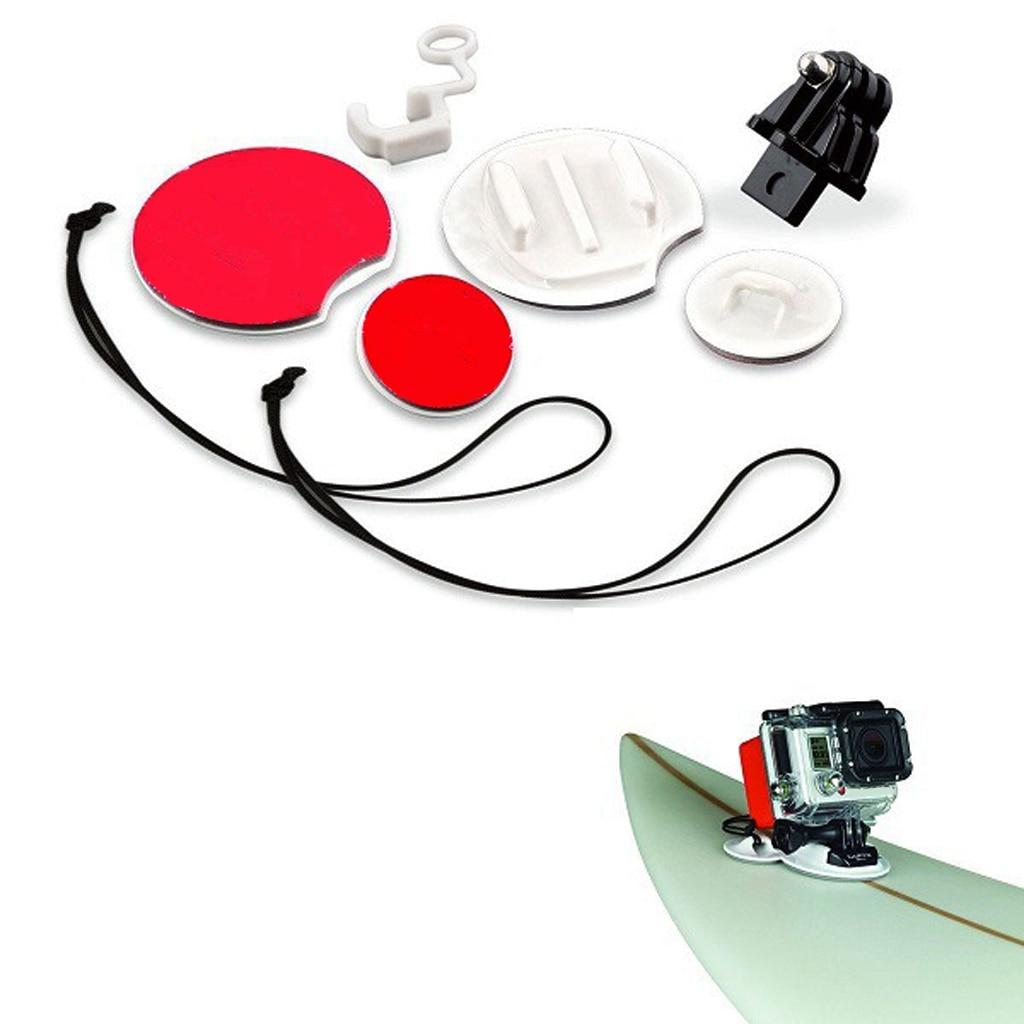 Durable 8 in 1 Surfing Surfboard Snowboard Mount Adapter Kit for Gopro Hero3 Hero2 Surfing Kayaking Swimming Boat Accessories kayak suit