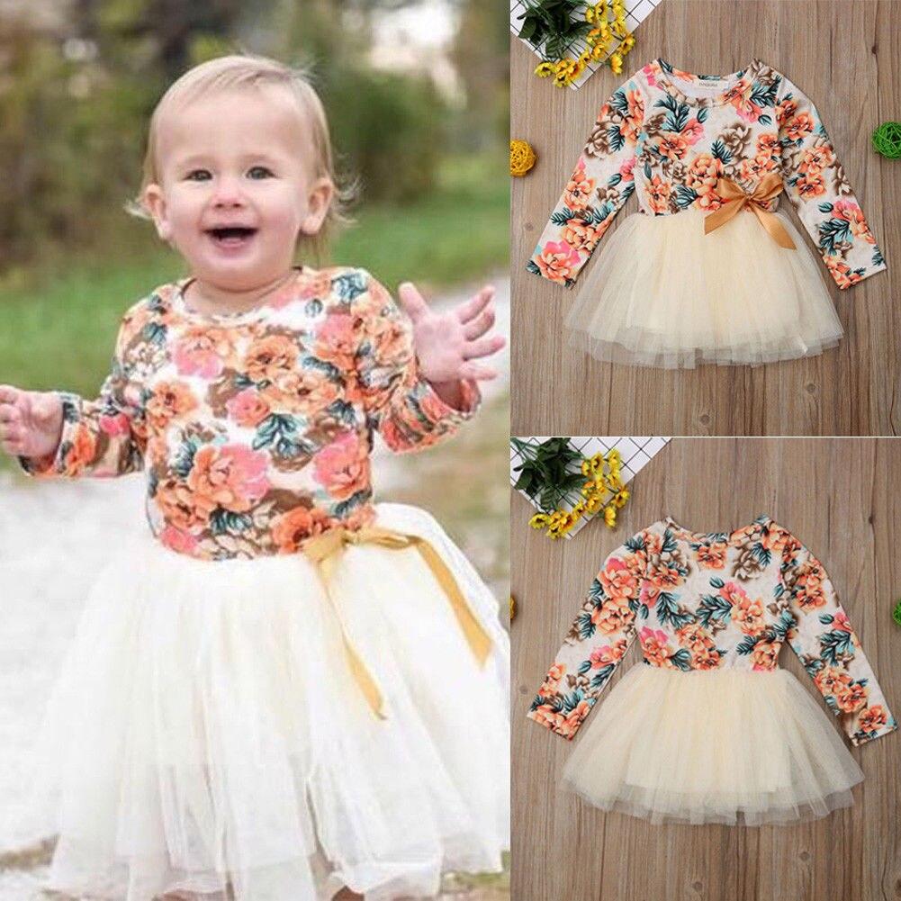 c36e05226c3ee9a Pudcoco платье для девочек От 1 до 6 лет для маленьких девочек вечерние  Кружевное платье-